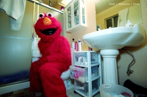 Learn from Elmo, and turn your human waste into renewable energy!