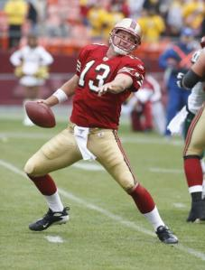 You never know what will happen when Shaun Hill drops back for a pass, but hey, that's part of the fun!