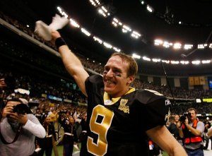 I have unhealthy man love for Drew Brees.
