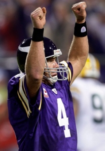 The man love for Favre last night was palpable.